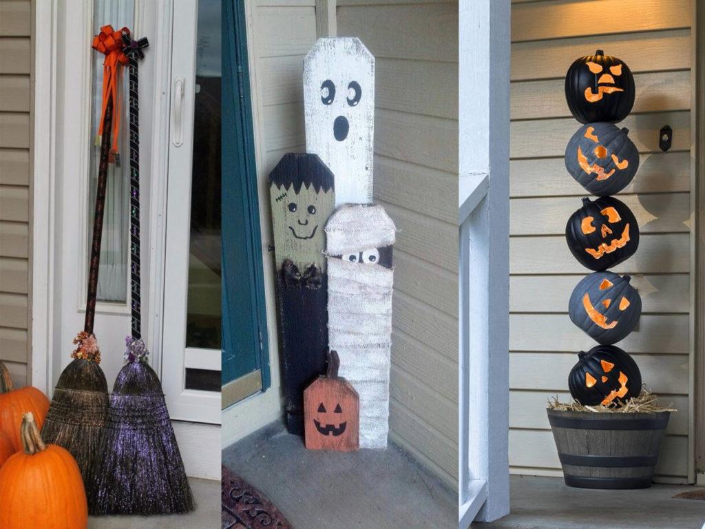 Triunfa este halloween 2017 con estos trucos de decoraci n for Decoracion de la puerta de entrada