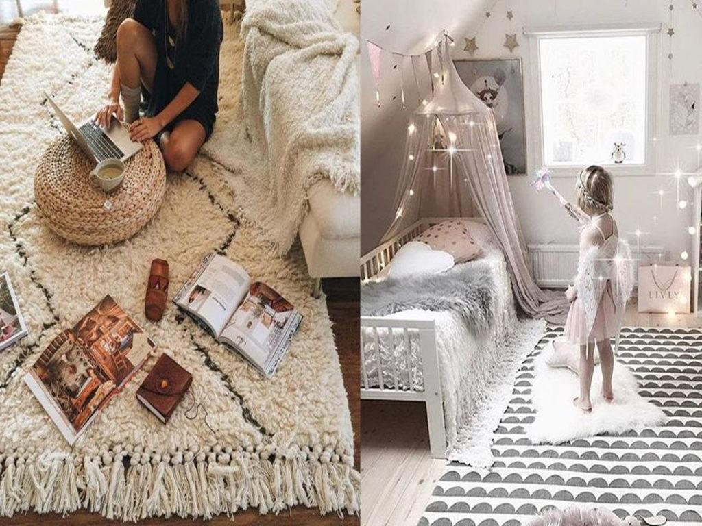 tips para la decoración con alfombras