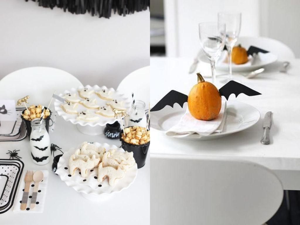 Halloween 2017 decoración de mesas
