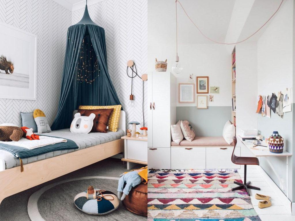 decoración con alfombras infantiles