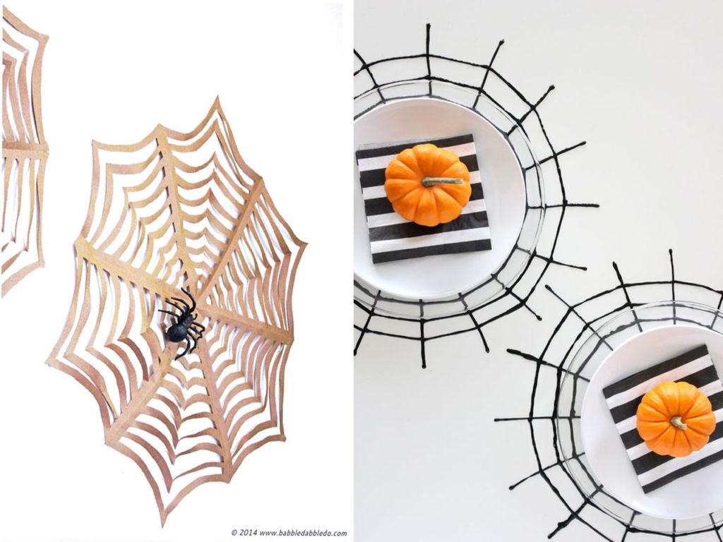 Halloween 2017 telas de araña