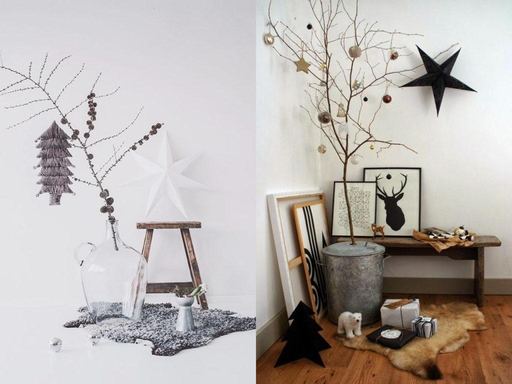 abeto decoración para navidad 2017-2018