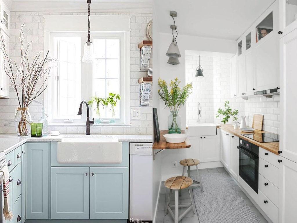 colores claros para darle luz a la cocina perfecta