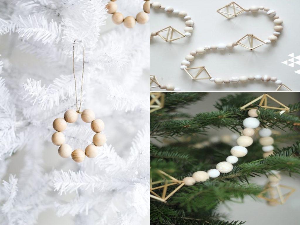 cuentas bonitas decoración para navidad 2017-2018
