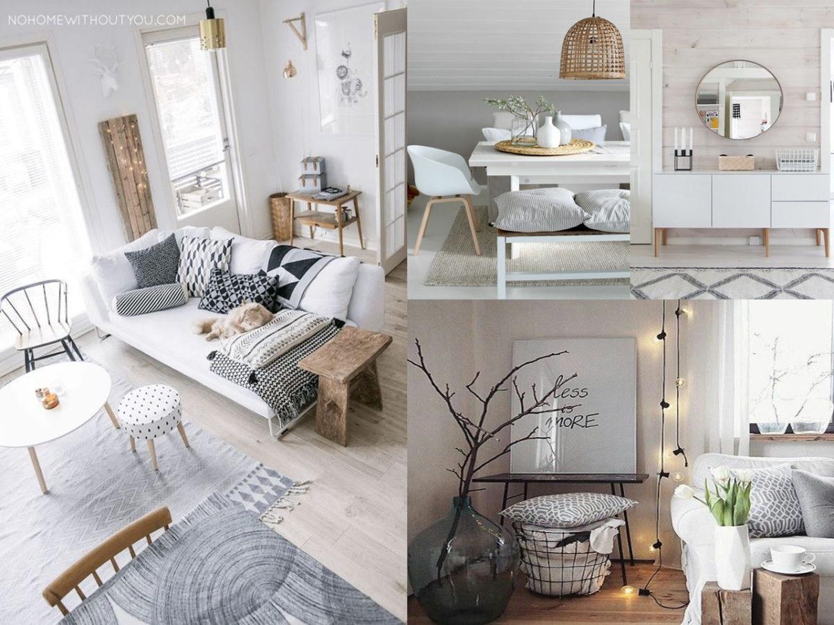 Los mejores colores para lograr una decoración nórdica pura