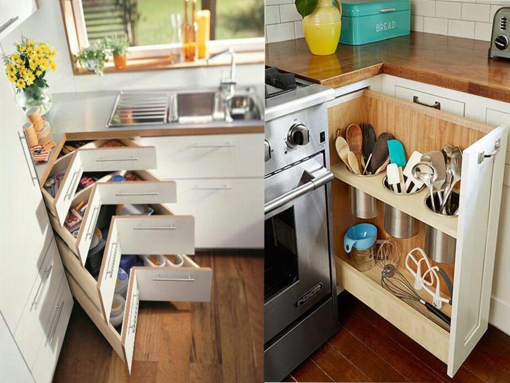 aprovechar el espacio en la cocina perfecta
