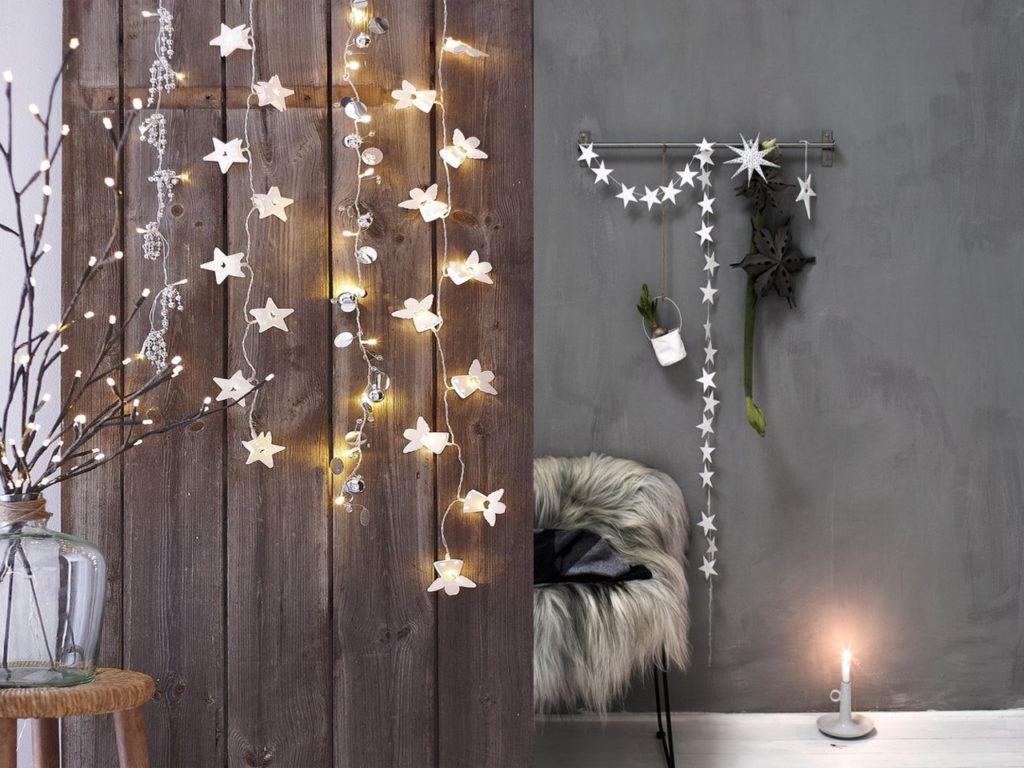 luces estrella decoración para navidad 2017-2018