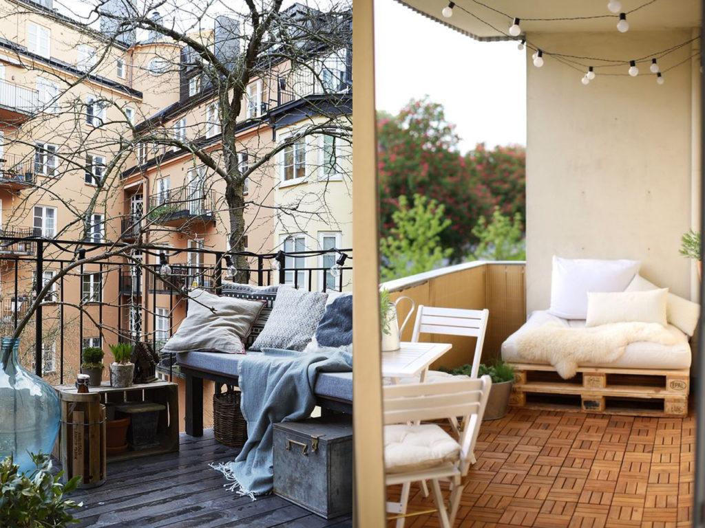 Ideas para vestir tu terraza de invierno y disfrutarla for Ideas suelo terraza