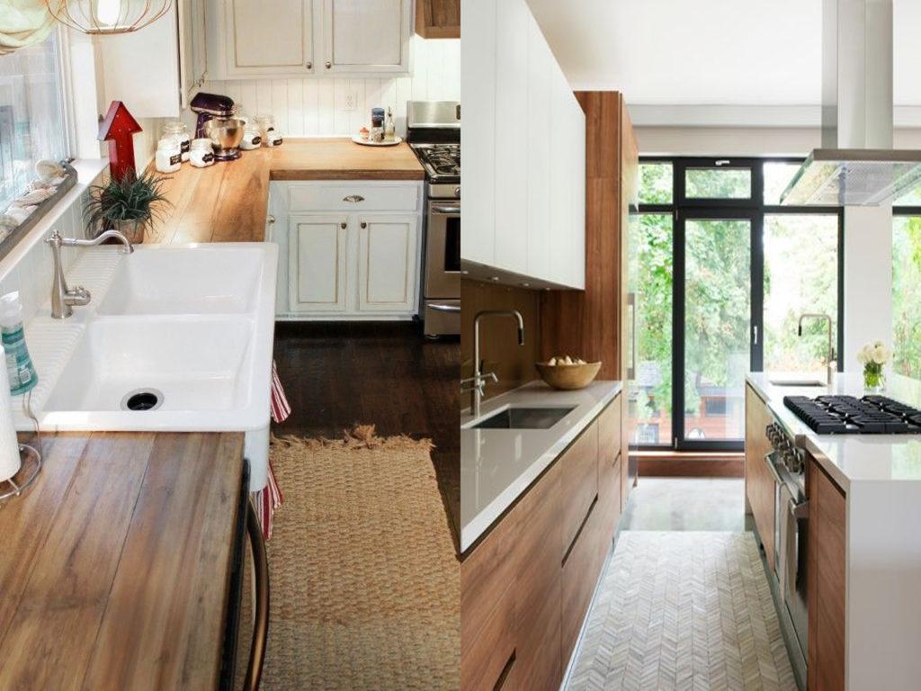 colocación de los distintos muebles en la cocina perfecta