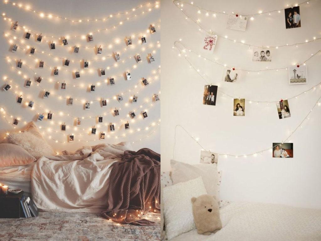 fotos con luces de navidad