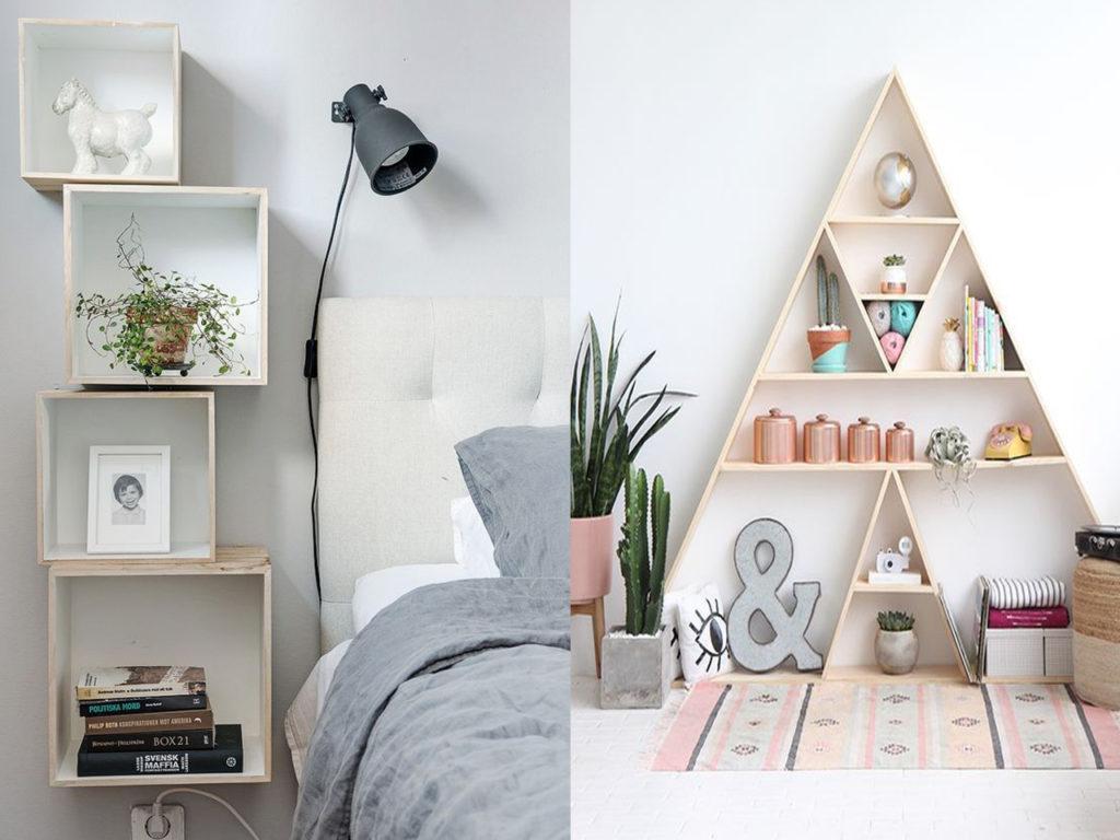 estanterías originales en tu hogar