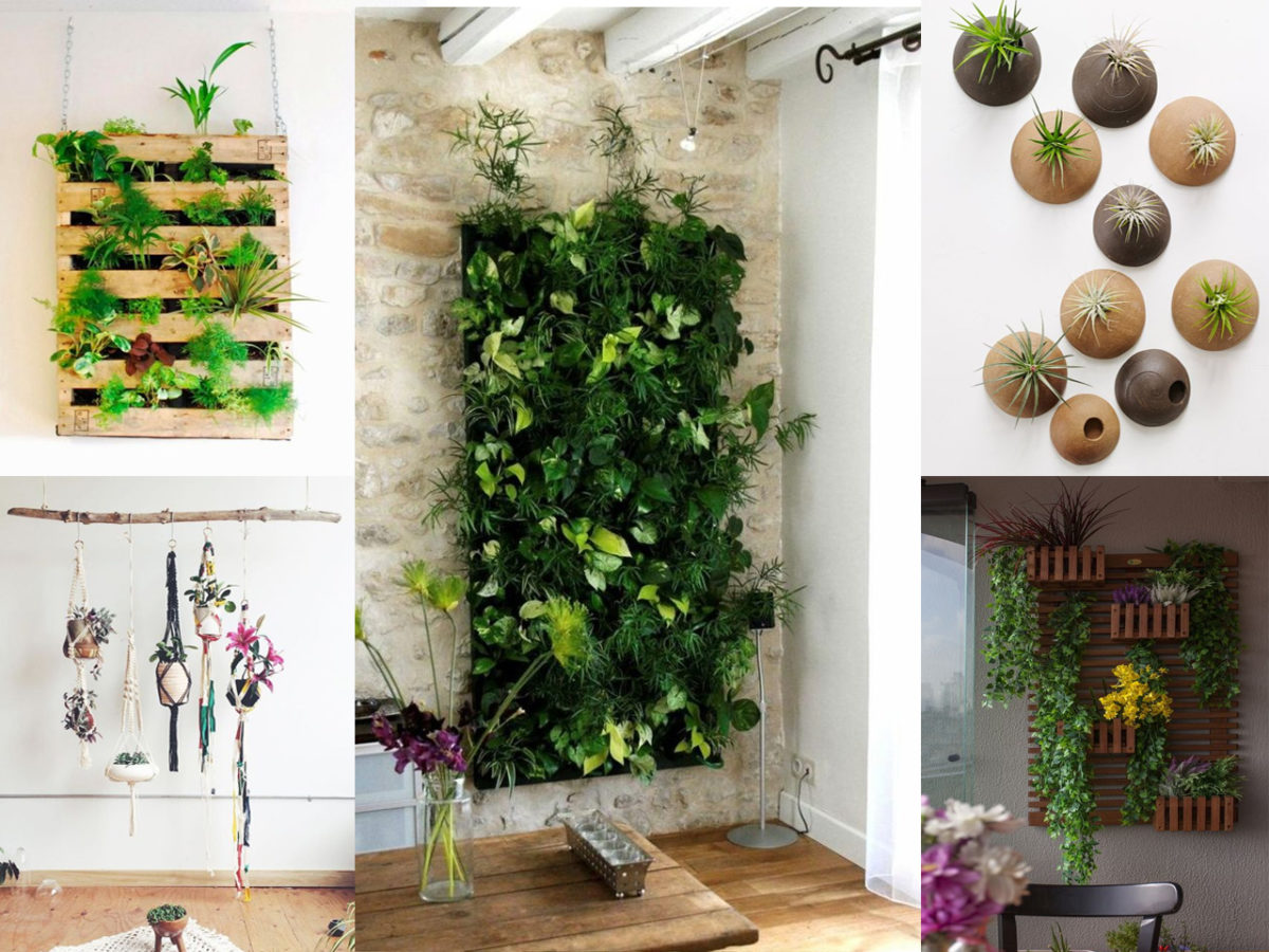 Jardines verticales ideas para incluirlos en tu decoraci n for Jardin interior decoracion