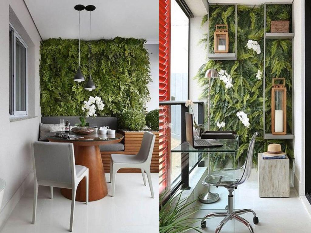 Jardines verticales ideas para incluirlos en tu decoraci n for Ideas para jardines verticales
