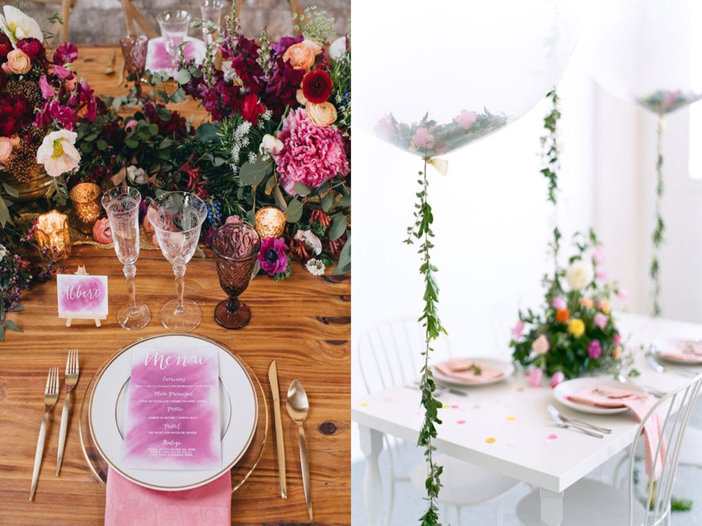 Tendencias decoraci n bodas 2018 2019 ideas para decorar for Decoracion de espacios abiertos para bodas