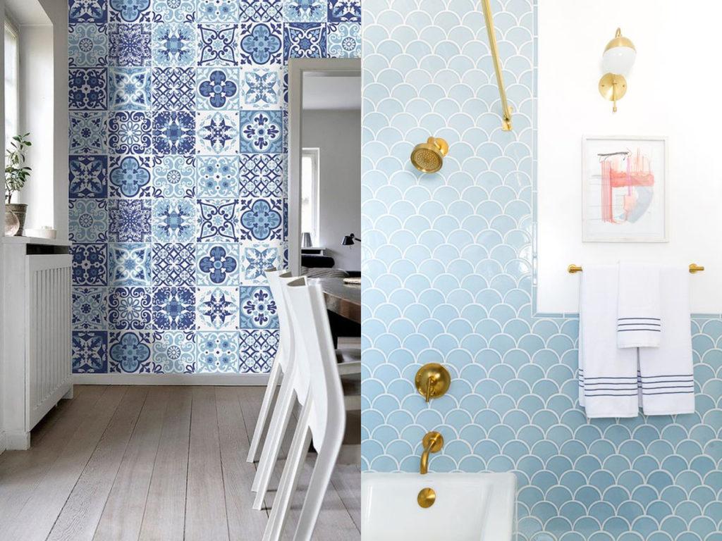 decoración con azulejos