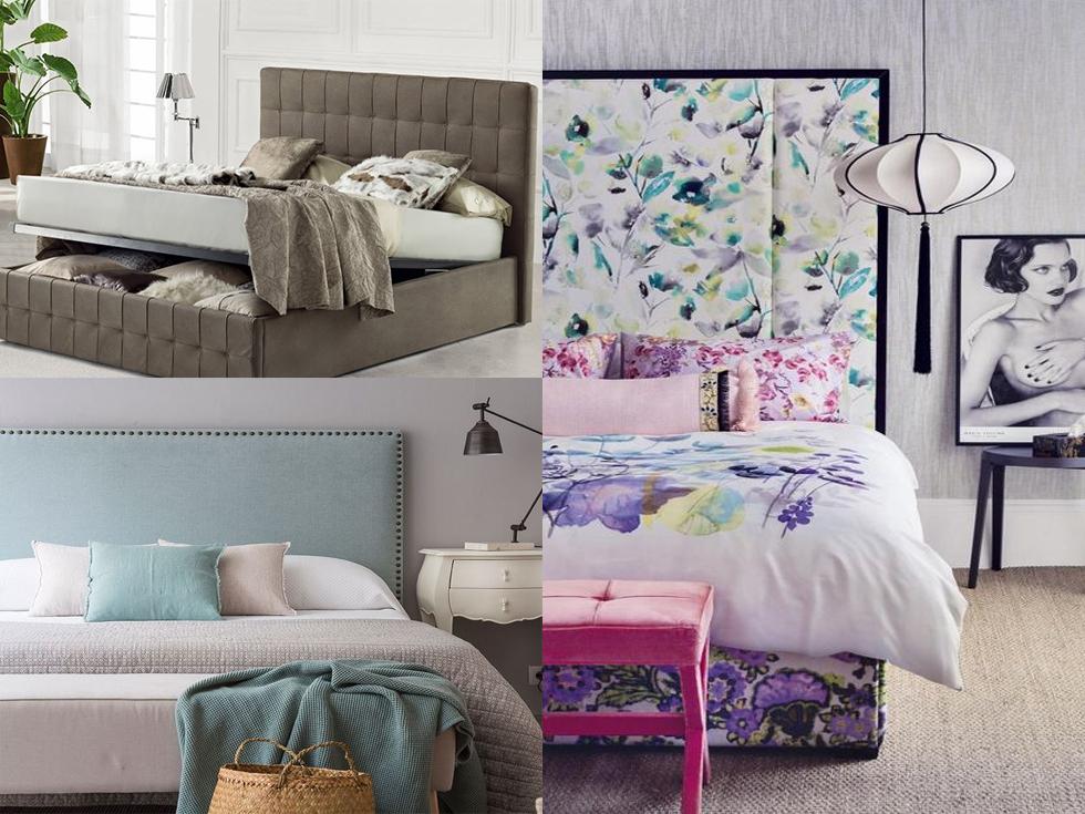 Cabeceros tapizados para tu dormitorio